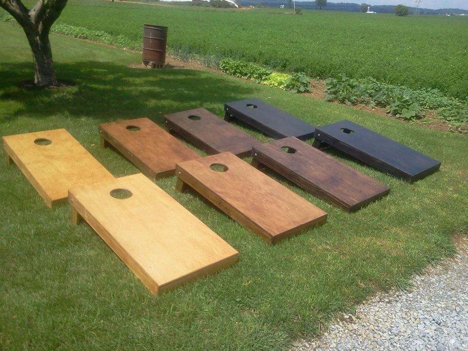 Wooden Corn Hole Game Home 16